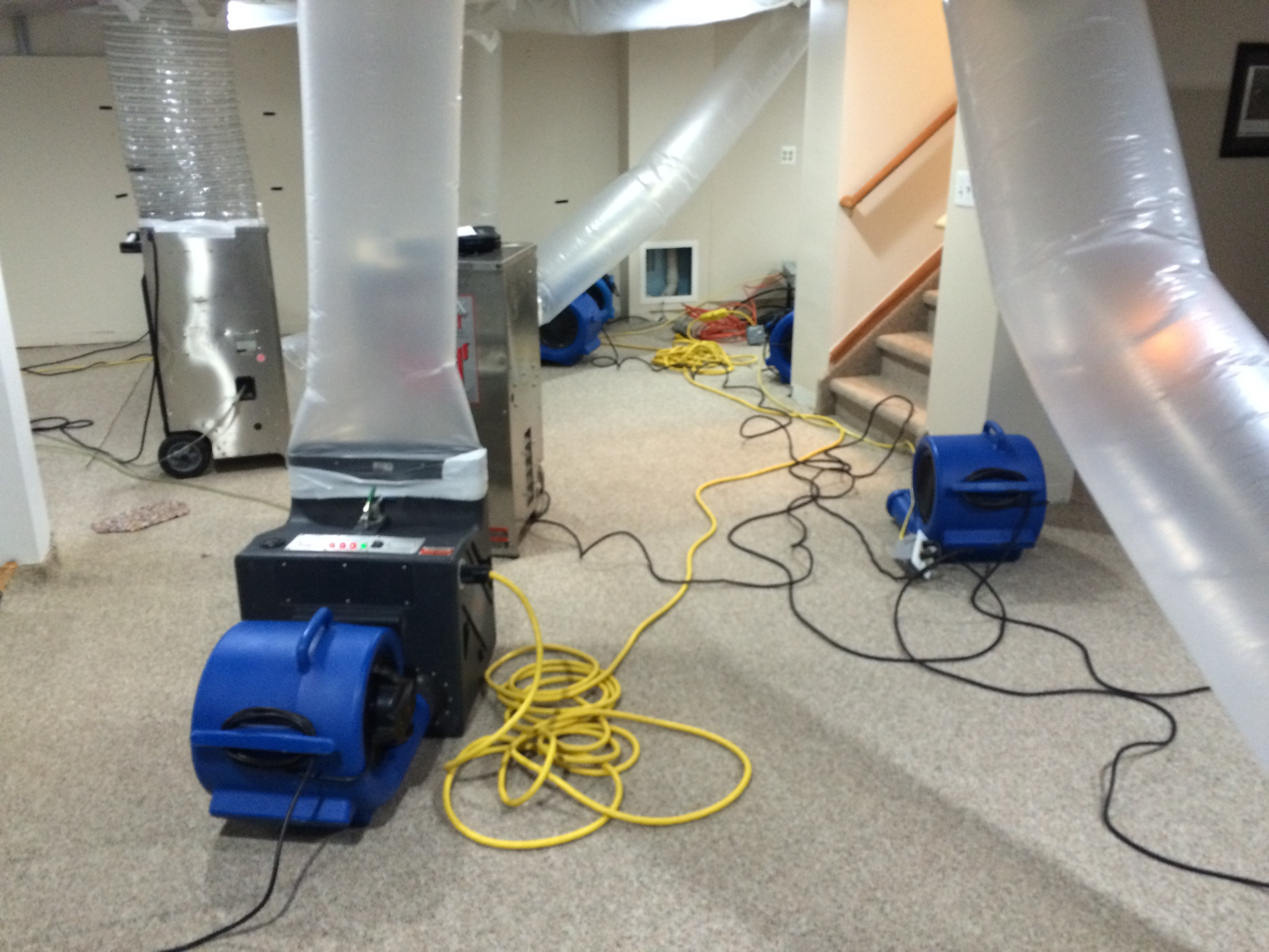 Water Restoration Equipment : Equipment used for water mitigation damage dearborn